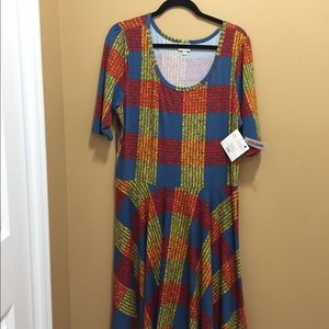 LuLaRoe 3xl Nicole dress. NWT accepting all offers